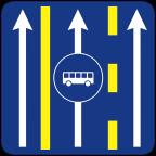 2411-5 - Prometni pas za vozila javnega prevoza potnikov