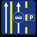 2411-8 - Prometni pas za vozila javnega prevoza potnikov
