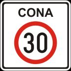 2421 - Območje omejene hitrosti