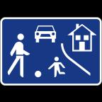 2427 - Območje umirjenega prometa
