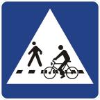 2432-1 - Prehod za pešce in kolesarje