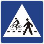 2432 - Prehod za pešce in kolesarje