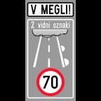 2443-2 - Območje s pogostim pojavom megle