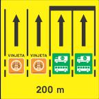 3302 - Razvrščanje vozil na območju cestninske postaje