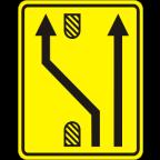3305-4-R - Preusmeritev prometa na drugo smerno vozišče
