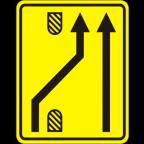 3305-5-R - Preusmeritev prometa na drugo smerno vozišče