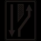 3306-1 - Preusmeritev prometa na drugo cesto