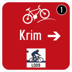 3406-2 - Kažipot za kolesarje