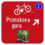 3406-4 - Kažipot za kolesarje
