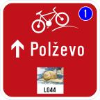 3406 - Kažipot za kolesarje