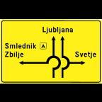 3411-1 - Razvrščanje vozil z imeni krajev