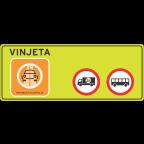 3427 - Vinjetna cestninska steza