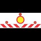 7201 - Oranžna luč na tabli čelne zapore