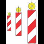 7202-1 - Utripajoča rumena luč