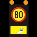 7204-1 - Mobilna signalna tabla s spremenljivo vsebino