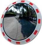 O1 - Okroglo ogledalo z rdeče-belim robom