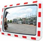 O10 - Pravokotno ogledalo z rdeče-belim robom
