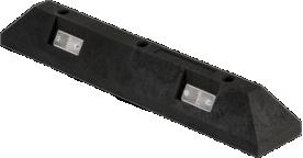 OVP28 - PVC parkirni omejevalec 80 cm - Črni