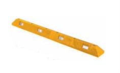 OVP31 - PVC parkirni omejevalec 175 cm - Rumeni