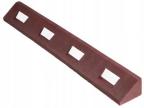 OVP47 - Rdeči gumijasti robnik