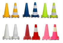 S16 - Raznobarvni stožci 50 CM