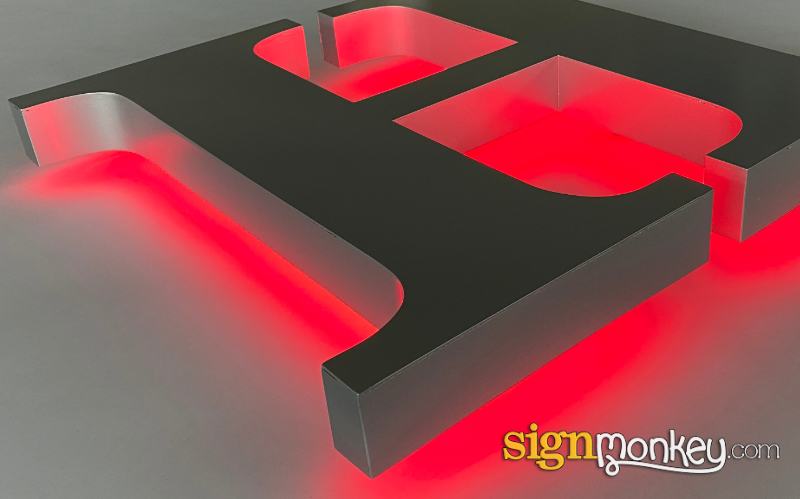 Halo Sign Illumination LEDs
