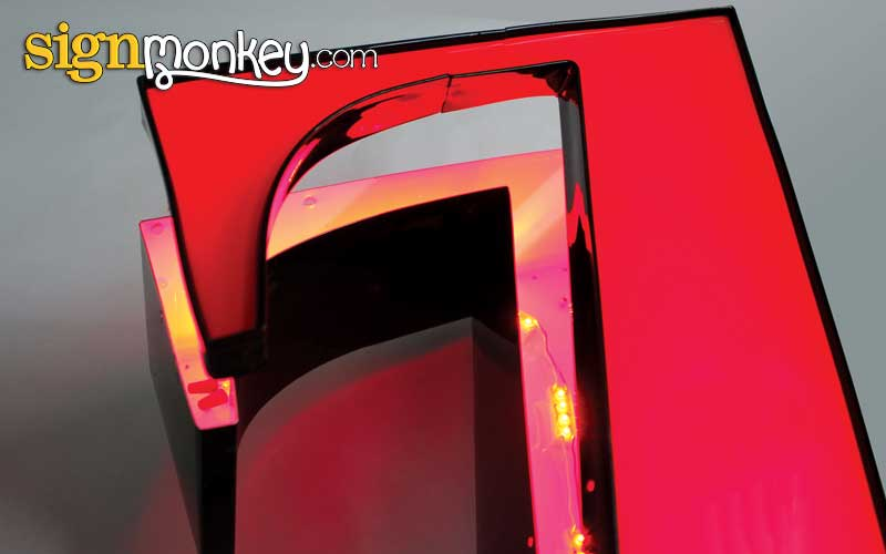 Illuminated Channel Sign Letters Face & Trim