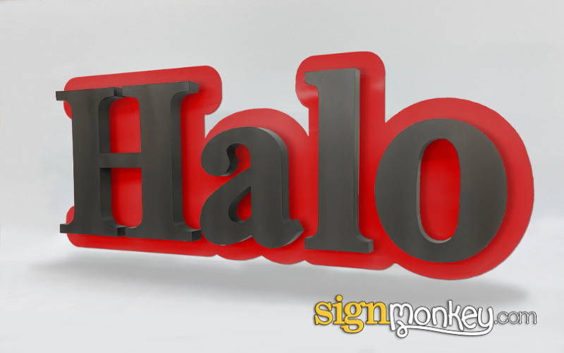 Included Sign Background