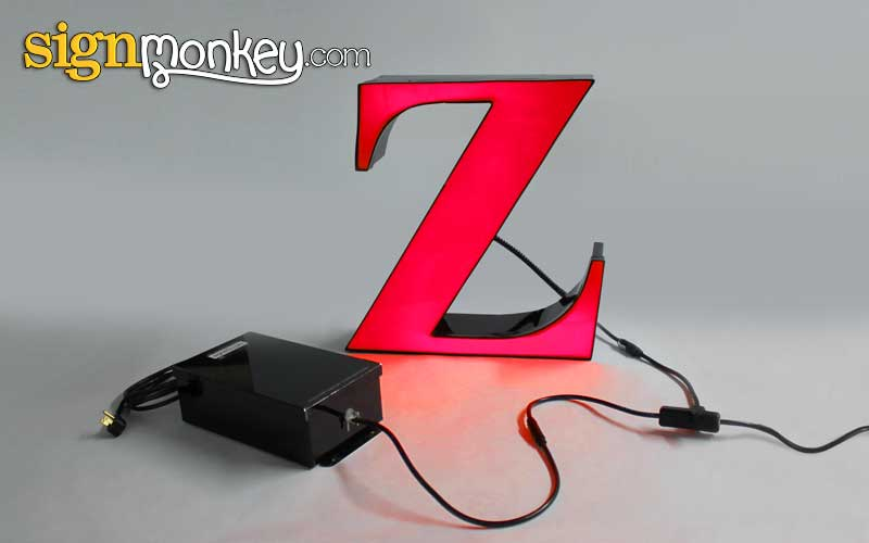 LED Sign Letter Illumination & Power Supply