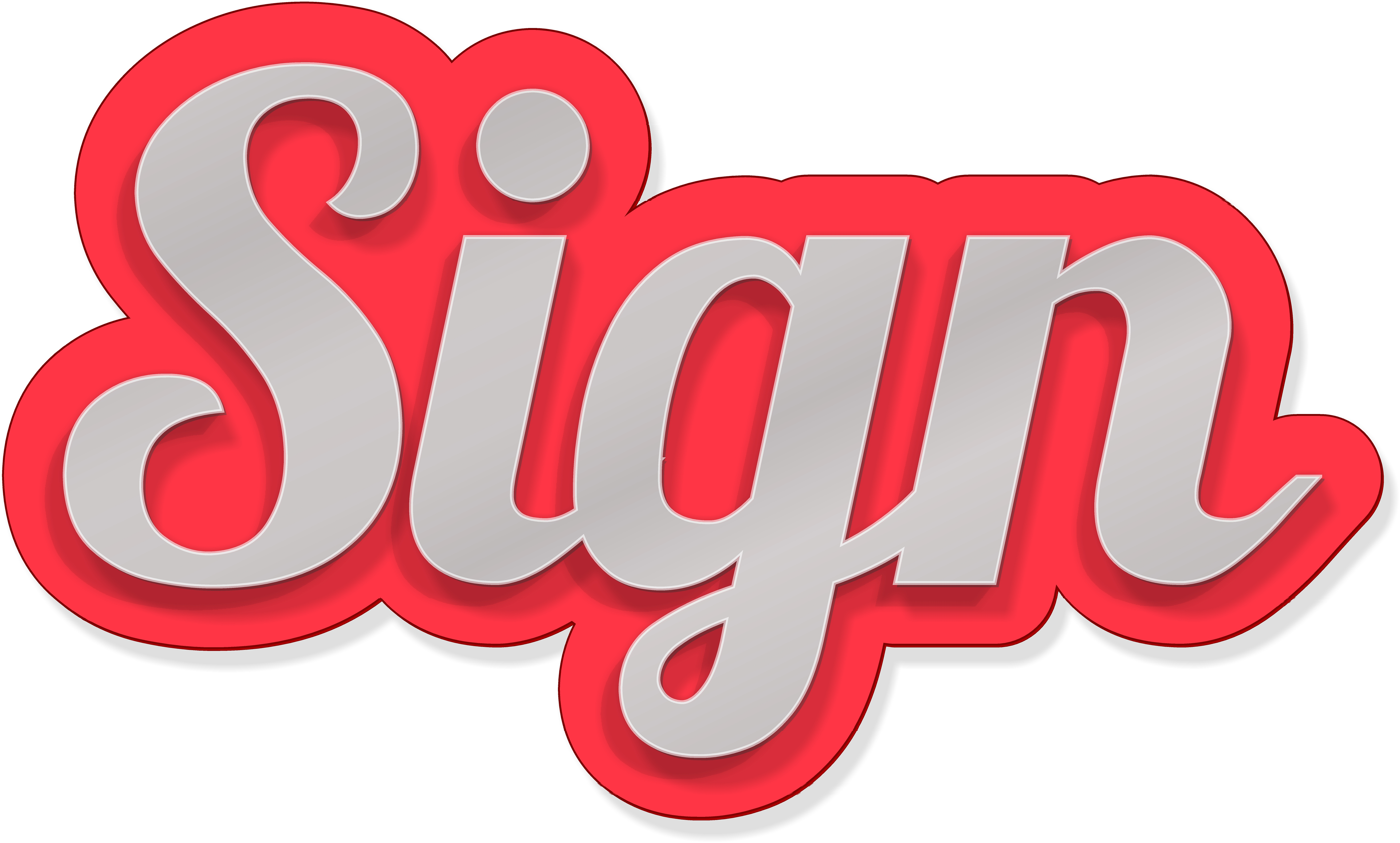 Sign Background