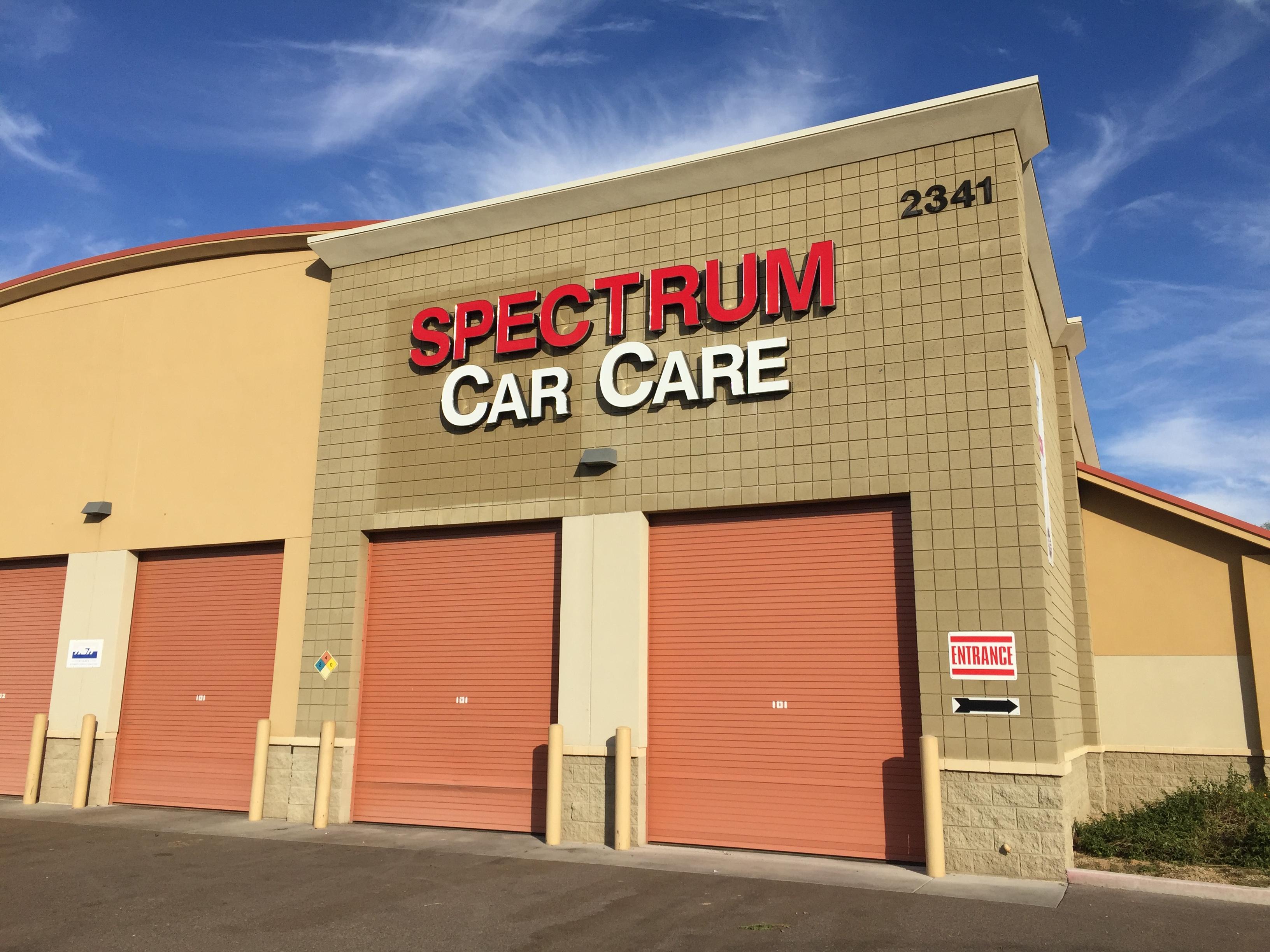 Spectrum Car Car Channel Letter Sign finished