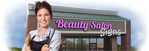 Buy Beauty Salon Lit Signs | Shop, Price and Customize Beauty Salon Signs | SignMonkey.com