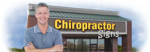 Buy Chiropractor Lit Signs | Shop, Price and Customize Chiropractic Clinic Signs | SignMonkey.com