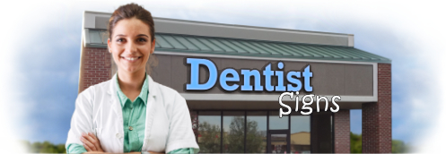 Buy Dentist Office Lit Signs | Shop, Price and Customize Dentist Signs | SignMonkey.com