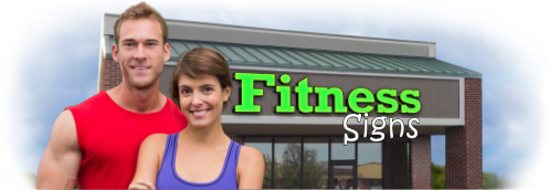 Buy Fitness Lit Signs | Shop, Price and Customize Fitness Center Signs | SignMonkey.com