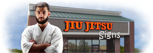 Buy Jiu Jistu Lit Signs | Shop, Price and Customize Jiu Jistu Studio Signs | SignMonkey.com