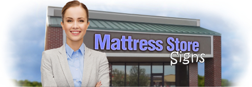 Buy Mattress Lit Signs | Shop, Price and Customize Mattress Signs | SignMonkey.com