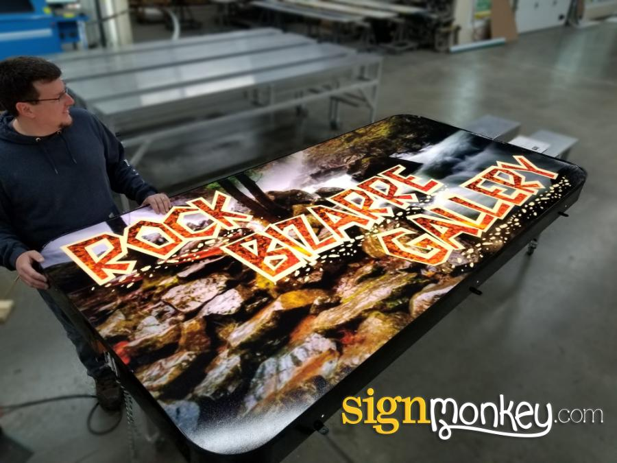 Self Contained Signs, Self Contained Custom Sign, Signmonkey, Signmonkey Sign, Cheap Signs, Affordable Signs, Wholesale Signs, Quality Signs, Pretty Signs, LED Signs, Bright Signs