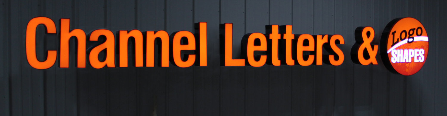 EZLit® Illuminated Channel Letters Sign