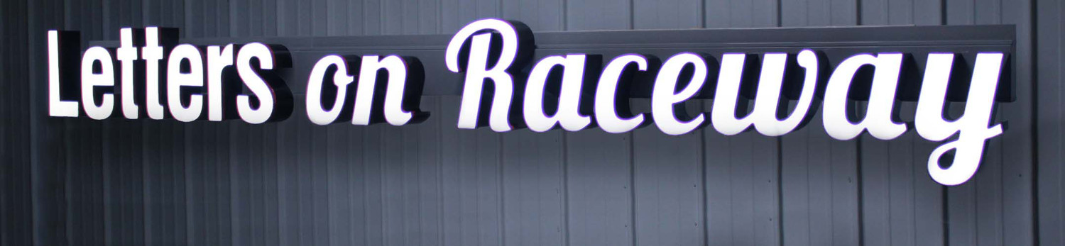 Raceway Channel Letters and Logos