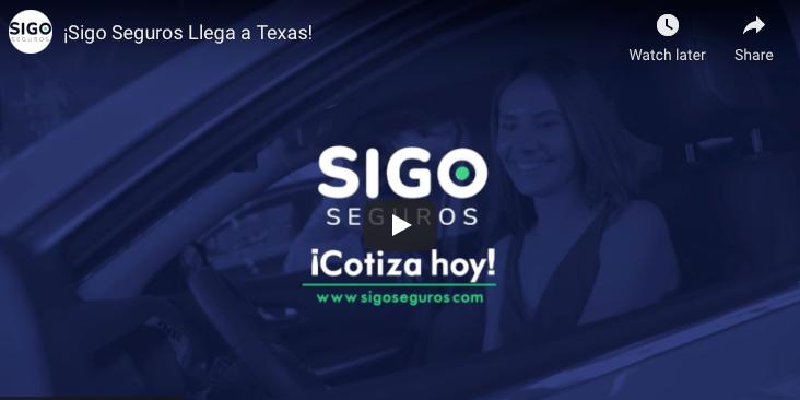 Video: ¡Sigo Seguros Llega a Texas!