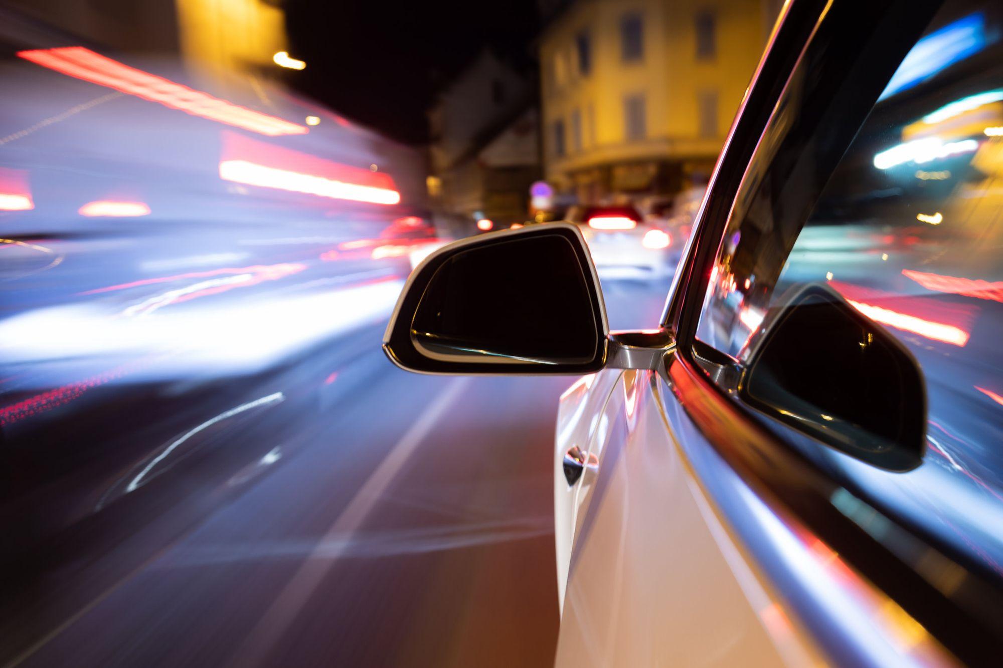 Consecuencias de manejar a alta velocidad