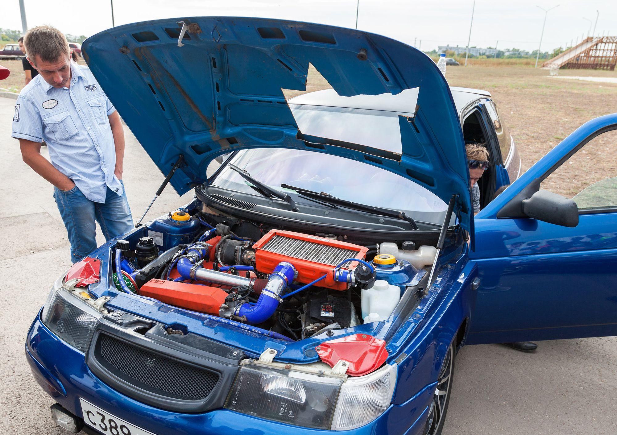 Cobertura de seguro para autos modificados