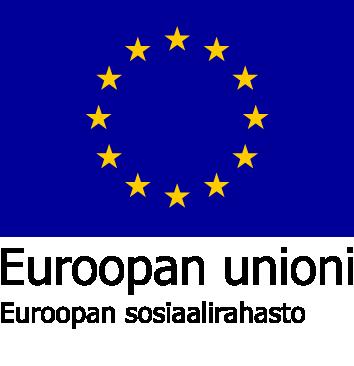 Euroopan Unionin sosiaalirahastojen lippulogo