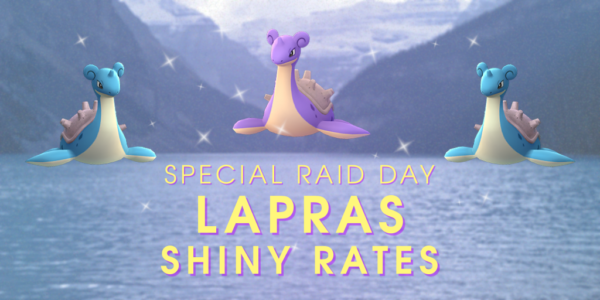 Lapras Raid Day: Shiny Rate - The Silph Road