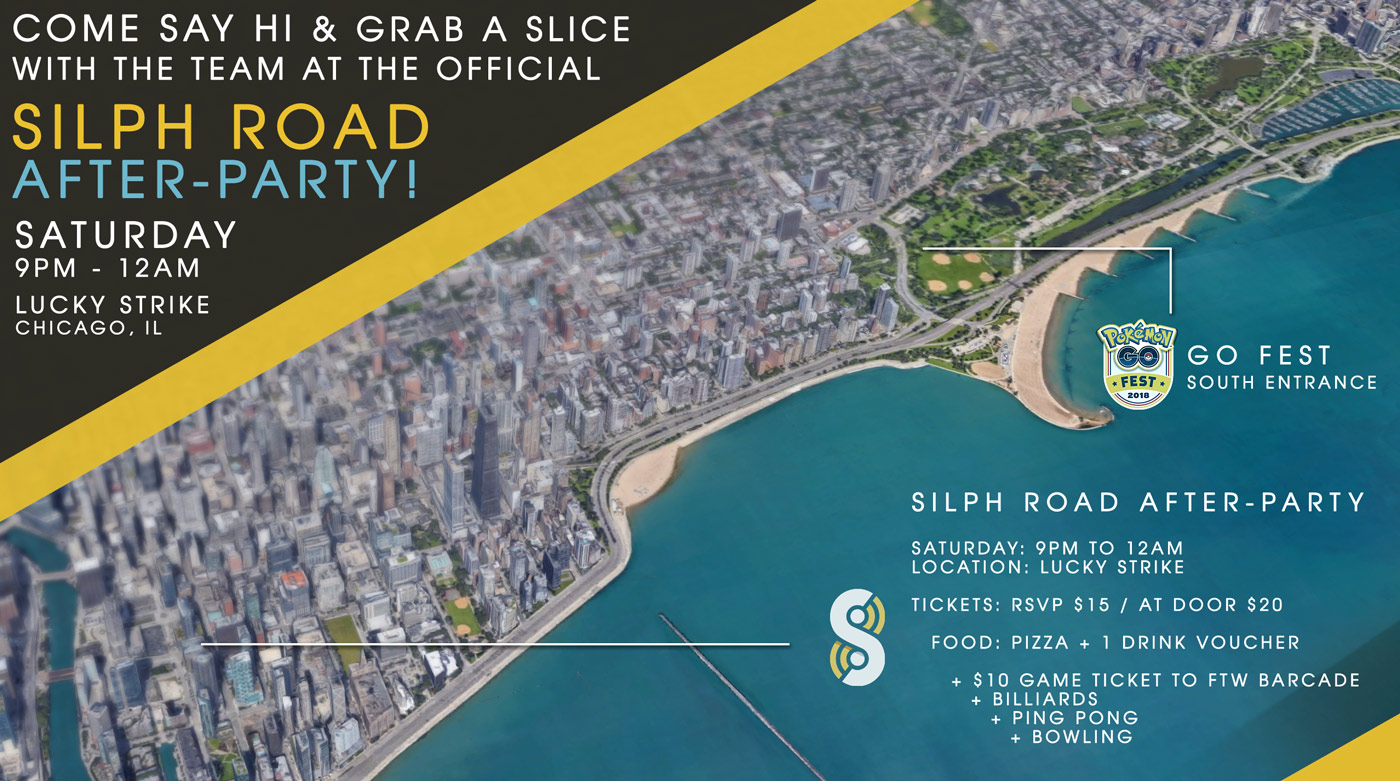 The Official Silph Road Chicago Meetup is Back for GO Fest 2018