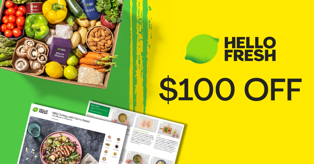 HelloFresh Canada Spring Flash Sale!