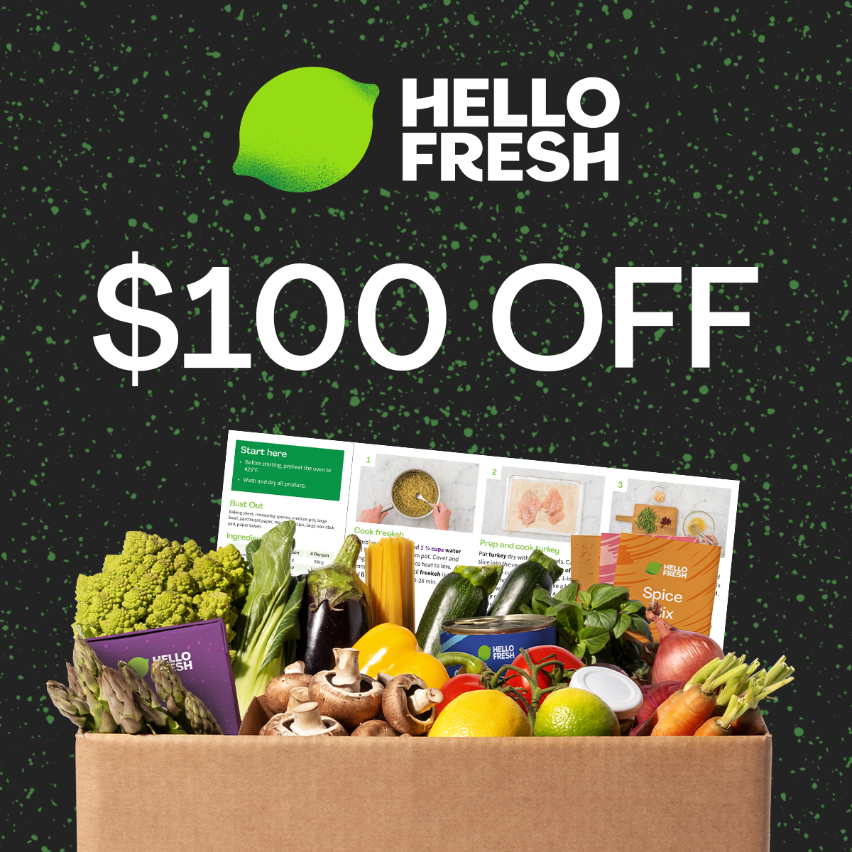 HelloFresh Canada Black Friday Deal!