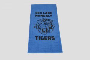 EL102 Elite Large Towel printed