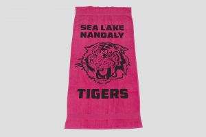NP107  New Plush hand towel printed